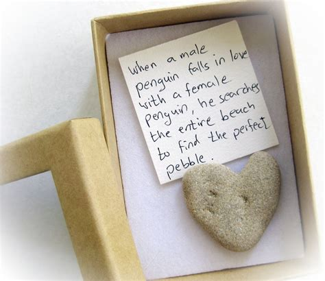 cool valentines gifts unique s card for a shaped rock in a