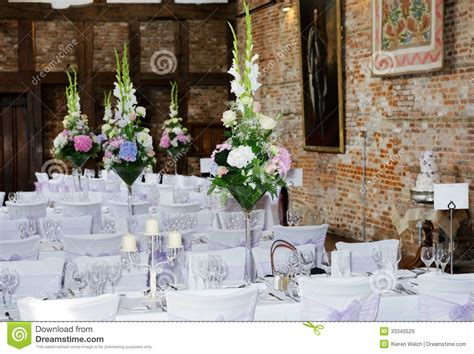 wedding table arrangements prices wedding reception interior royalty free stock images image 33340529