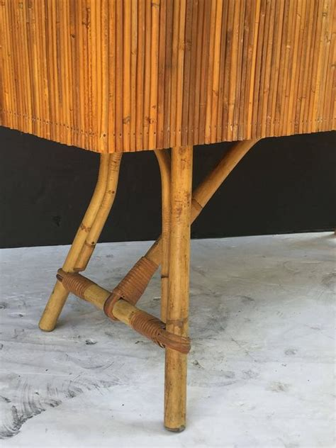 bamboo bar top french bamboo bar for serving with black lacquered top for sale at 1stdibs