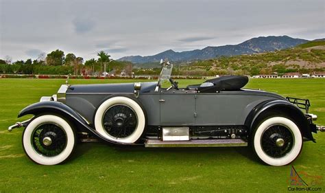 Rolls Royce Roadster by 1926 Rolls Royce Silver Ghost Piccadilly Roadster