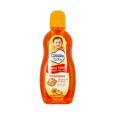 jual cussons baby shoo almond and honey 100 100