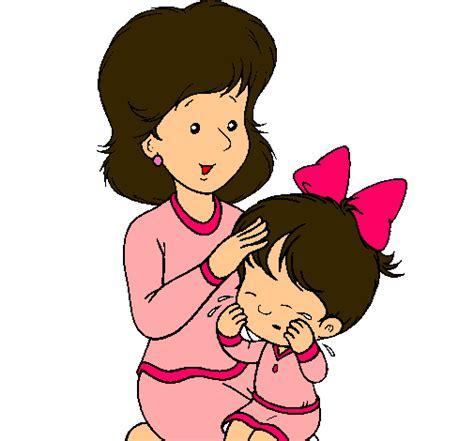 imagenes de mama con sus hijos en caricatura dibujo de madre pintado por mama en dibujos net el d 237 a 05