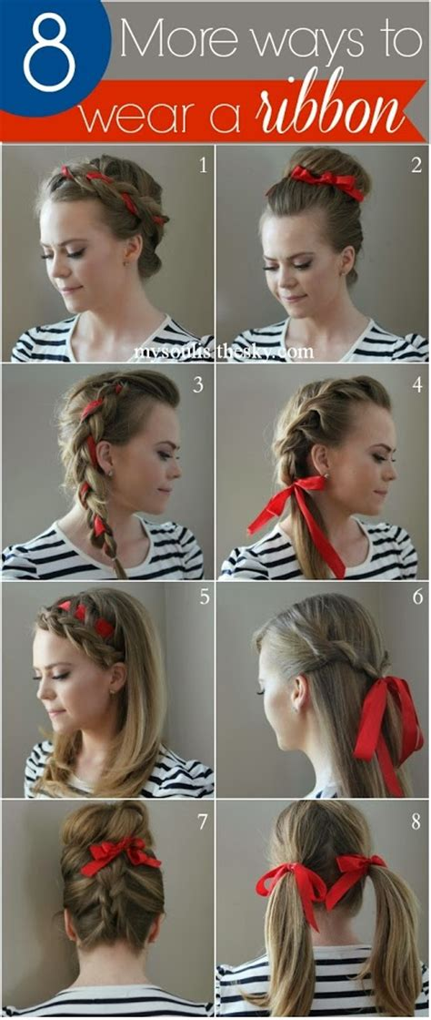 8 Ways To Wear Bows by 8 More Ways To Wear A Ribbon Sue