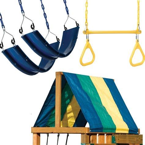 lowes swing set accessories shop swing n slide multi swing toy combo at lowes com