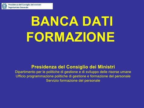 Banca Dati Pra by Banca Dati Formazione Id1650 Pcm