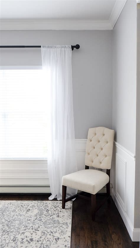 sheer curtains pottery barn my dining room mrscasual