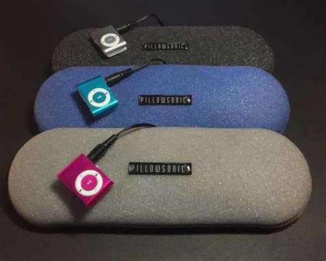Pillow Speaker by Pillowsonic Pillow Stereo Pillow Speakers With
