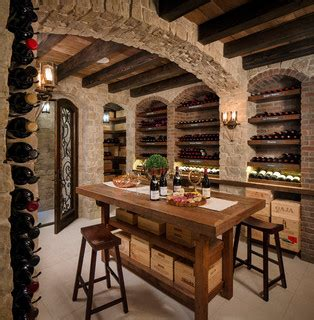 Living Room Restaurant San Diego Rustic Wine Cellar Tasting Room Mediterranean Wine