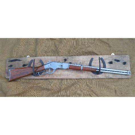Rifle Display Rack by Horseshoe Rifle Rack Display Relics Replica Weapons