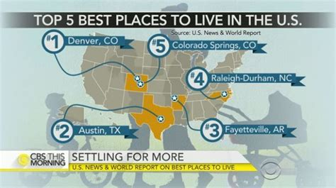 best places to live in the usa the stars of the states best place to live in u s colorado boasts two cities in