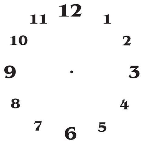 printable square clock face clock face templates free subli metals ltd