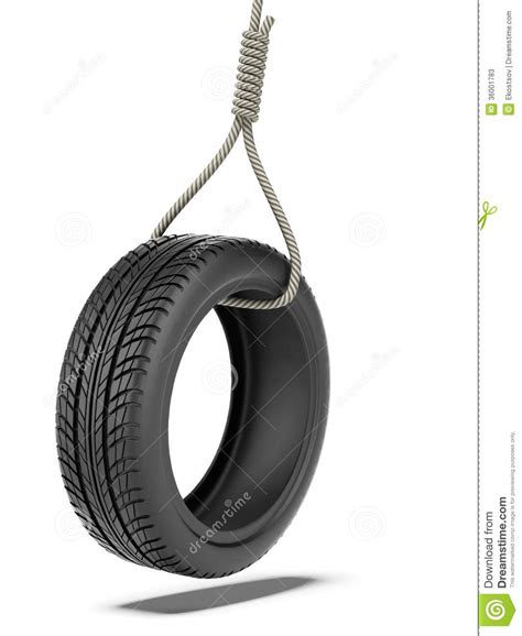 tire swing images tire swing over stock illustration image of rope rubber 36001783
