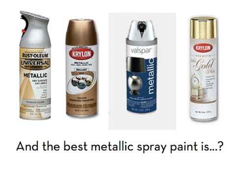 help what s the best silver metallic paint on the market curbly