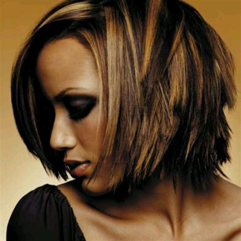 short hair cuts with the colors of carmel brown and highlights highlights and short layered haircuts fun hair