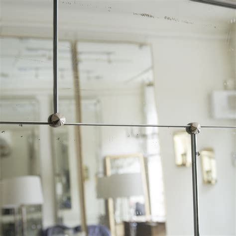 Sectional Mirrors by Silvered Sectional Mirror In Mirrors