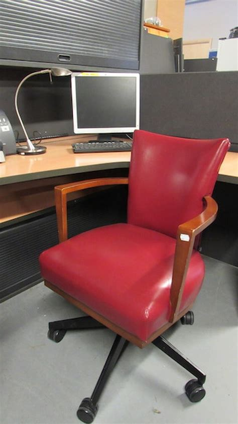 red leather desk secondhand chairs and tables office furniture 10x red