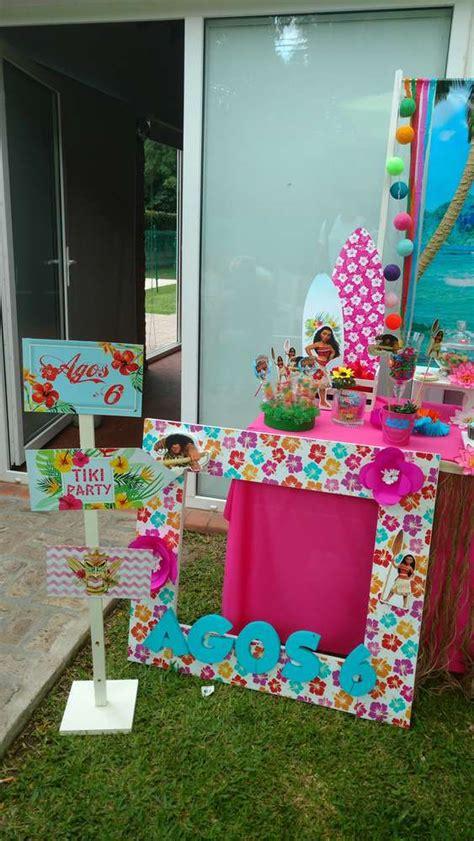 Decor Wonderland Moana Birthday Party Ideas Photo 2 Of 17 Catch My Party