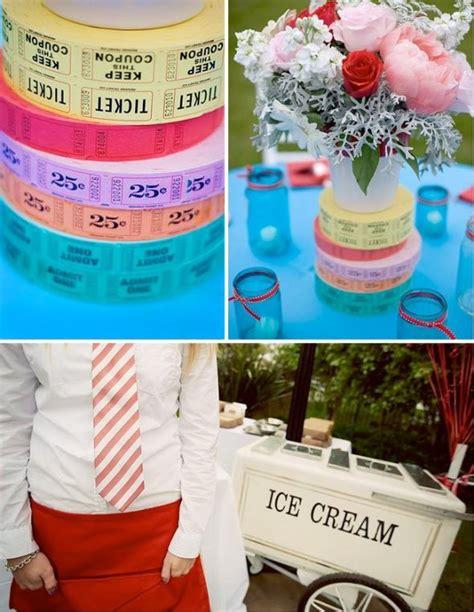carnival themed wedding carnival wedding centerpiece ideas weddingbee