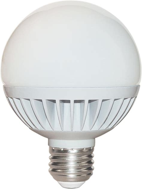 Led Lights And Bulbs Satco S9052 8 Watt Dimmable Led G25 Globe Replacement Light Bulbs With White Finish 2700k