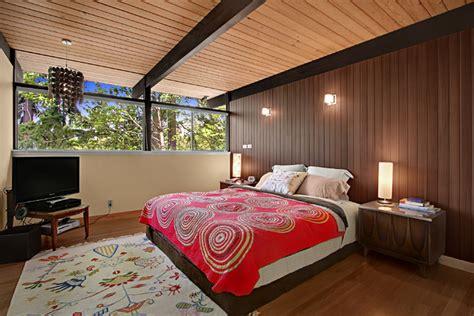 Mid Century Bedroom Design by Mercer Island Midcentury Modern