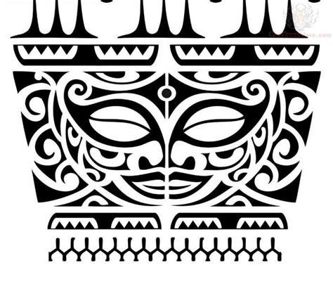 maori tiki tattoo designs black tribal maori tiki design