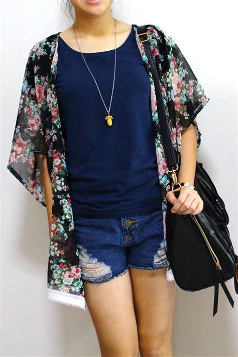 Kimono Cardie Pastel diy 1 hour kimono cardigan peabrain diy