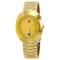 rado original jubile gold automatic r12413493 gold