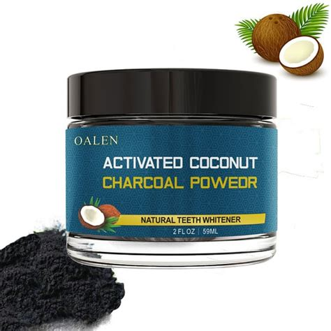 coconut shells activated carbon teeth whitening organic