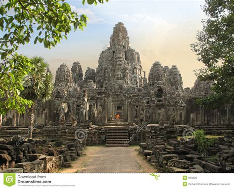 bayon temple cambodia stock photo image of cambodia