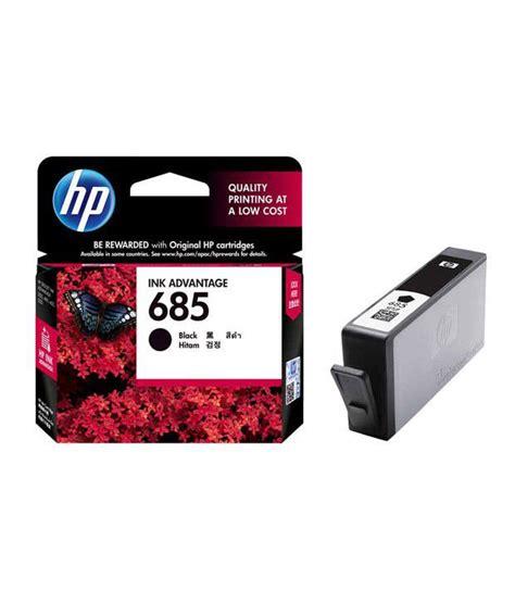 Hp Black Ink Cartridge 685 hp cz121aa 685 inkjet cartridge black available at