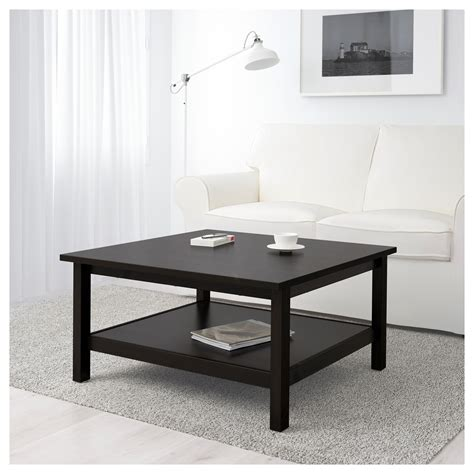 Hemnes Coffee Table Black Brown 90x90 Cm Ikea Hemnes Coffee Table Ikea