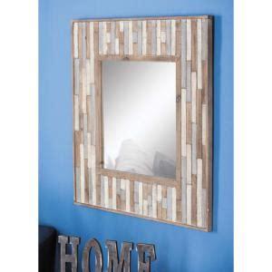 bathroom wall mirror square cherry oak framed renovator 32 in x 32 in square slat framed wall mirror 84307 the