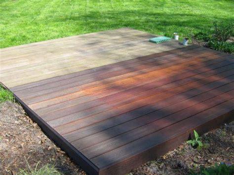 betonplatten streichen terrasse holzterrasse welches holz und welche lasur seite 1