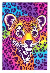 lisa frank hunter the leopard cub postcard