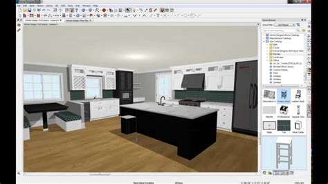 home designer pro by chief architect home designer 2015 kitchen design youtube