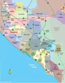 orange county california map with cities search commercial real estate in orange county ca