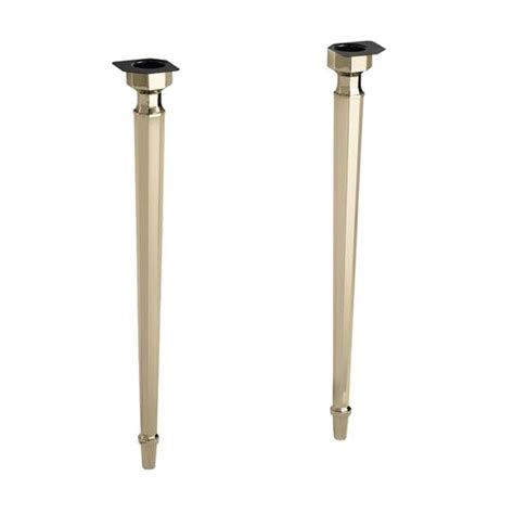 kohler kathryn console table legs in vibrant gold k