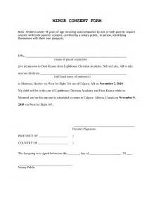 Authorization Letter Unaccompanied Minors travel letter for minor child consent to travel letter for minor