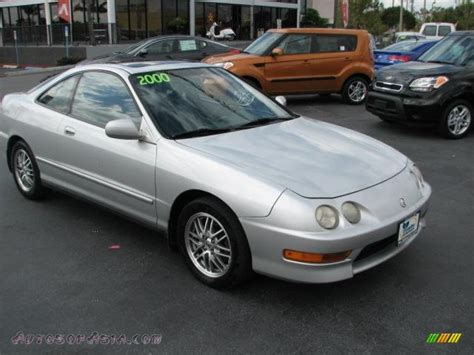 2000 acura coupe 2000 acura integra ls coupe in vogue silver metallic