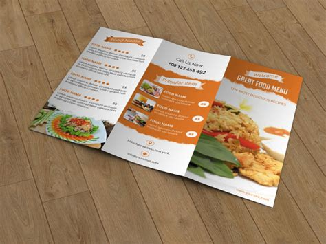 20 outstanding restaurant menu templates for food and drink business