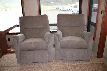 rv upholstery replacement rv recliners used used rv travel trailer furniture