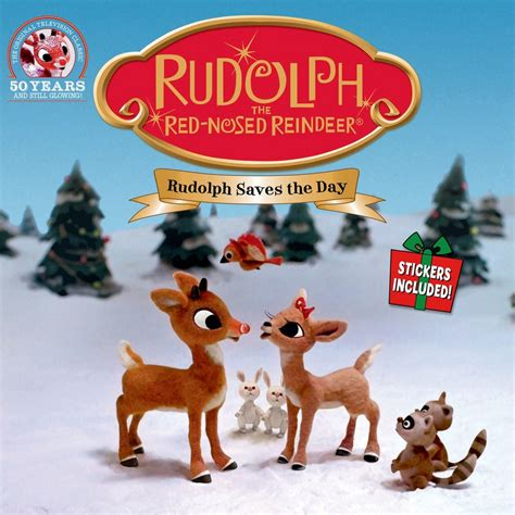rudolph the nosed reindeer rudolph the nosed reindeer rudolph saves the day anonymous macmillan