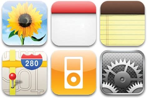 Image Gallery iphone icons