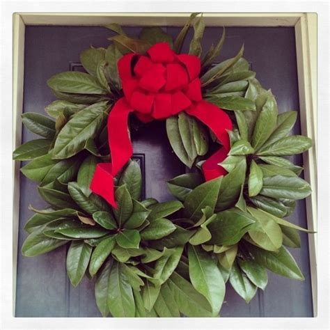 how to make a magnolia wreath southern living 17 best images about magnolia wreath on pinterest