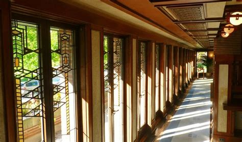 robie house windows main floor south window wall robie house frank lloyd wright 1906 picture of
