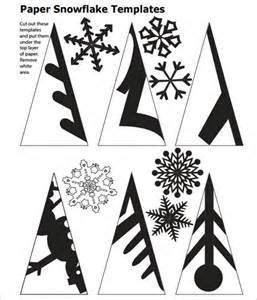 Paper Snowflake Template by Best Photos Of Snowflake Patterns To Cut Out Template