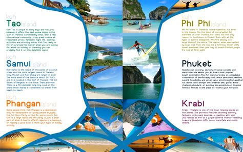10 travel brochures sample example format