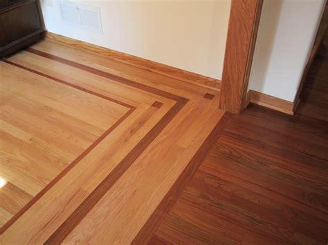Custom Wood Border   Hardwood Flooring   Anderson Floor