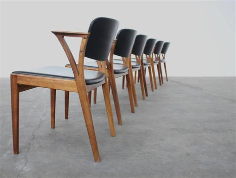 Bs 1960 Furniture by Set Of Six Rosewood Kristiansen Signed Bovenk