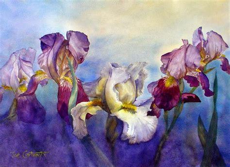 watercolor tutorial iris 1000 images about iris on pinterest irises purple iris